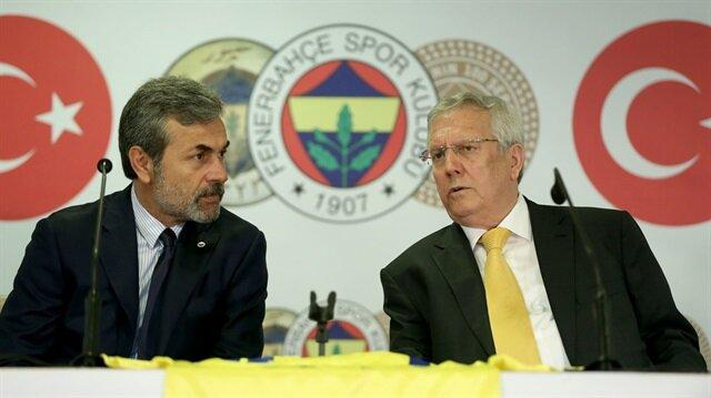 Fenerbahçe Kulübü sezon başında Aykut Kocaman'ı takımın başına getirmişti. Aziz Yıldırım, Kocaman'ın imza töreninde hazır bulunmuş ve eski teknik direktörüne başarı dileklerinde bulunmuştu.