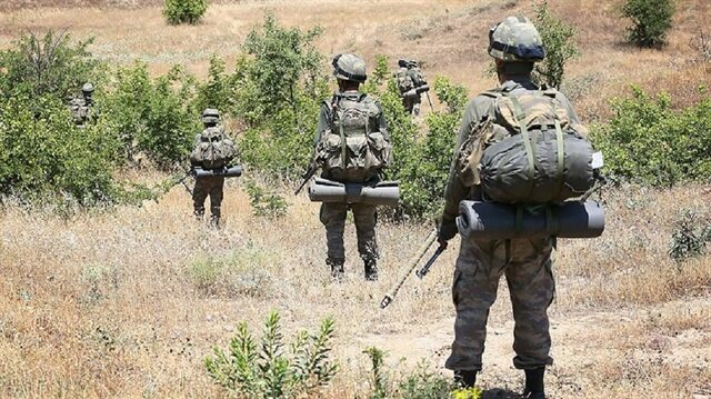 Terör örgütüne yönelik operasyonlar hız kesmeden devam ediyor.