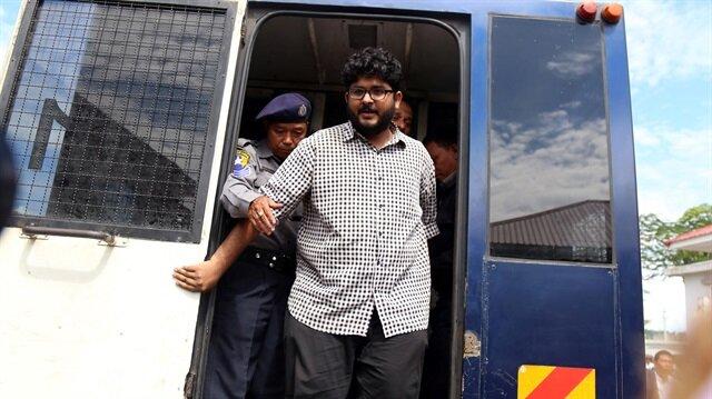 Myanmar'da aralarında TRT World'un serbest muhabirlerinin de olduğu 4 kişi, ruhsatsız drone bulundurmaktan hapis cezası aldı.