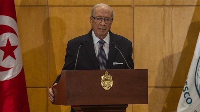 Tunus Cumhurbaşkanı El Baci Kaid es-Sibsi