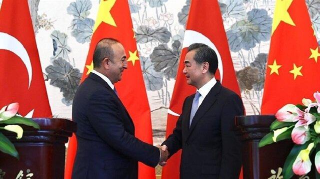 Dışişleri Bakanı Mevlüt Çavuşoğlu, Çin ile Türkiye ilişkilerinin geldiği seviyeden memnuniyetini dile getirdi.