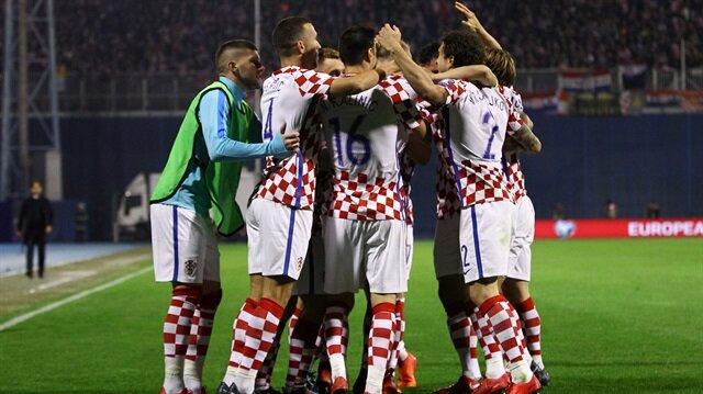 Hırvatistan rövanş maçı öncesi büyük avantaj elde etti.