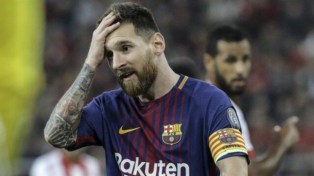 Messi geçtiğimiz günlerde Barcelona formasıyla 600. resmi maçına çıkmıştı.