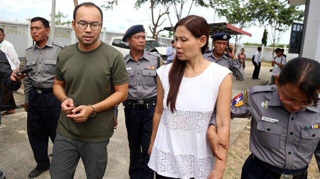 Hapis cezası alan 4 kişi, Myanmar'da TRT World için sözleşmeli olarak çalışıyordu.
