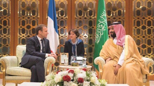 Emmanuel Macron, Körfez ülkelerinden daha fazla para karşılığında çark etti. İ