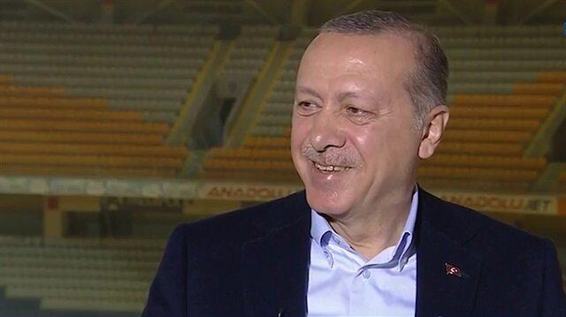 Cumhurbaşkanı Erdoğan yediği tek kırmızı kartı böyle anlattı