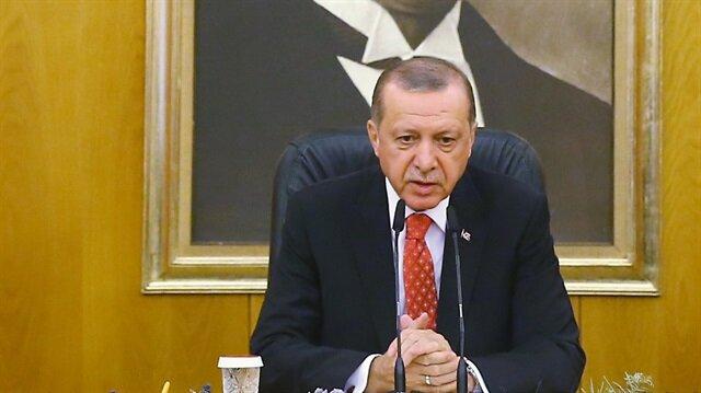 Cumhurbaşkanı Erdoğan'dan ABD ve Rusya'nın Suriye açıklamasına tepki