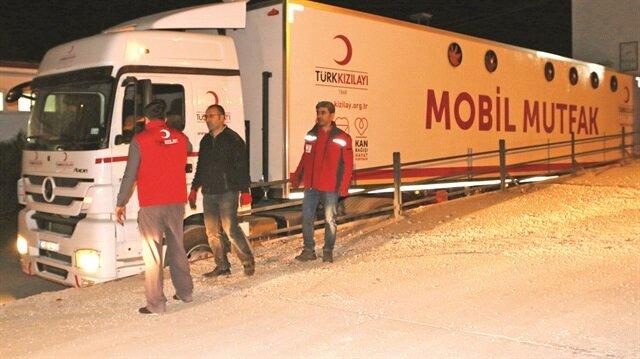 Türkiye'den yardım seferberliği