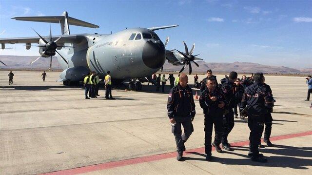 AFAD ekibi Irak'taki deprem bölgesine gitti