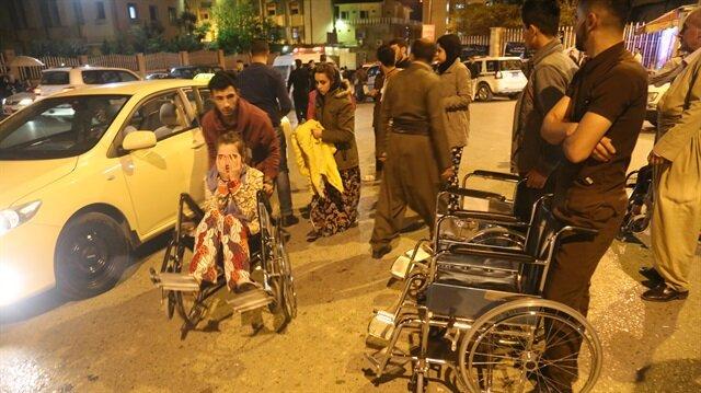 Irak'taki deprem endişeye sebep oldu