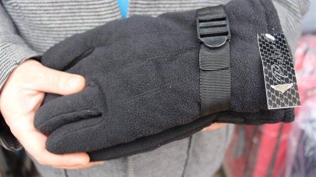 Havaların soğumasıyla eldiven satışları arttı.