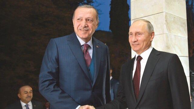Cumhurbaşkanı Recep Tayyip Erdoğan, dün Rusya Devlet Başkanı Putin ile kritik bir görüşme gerçekleştirdi.