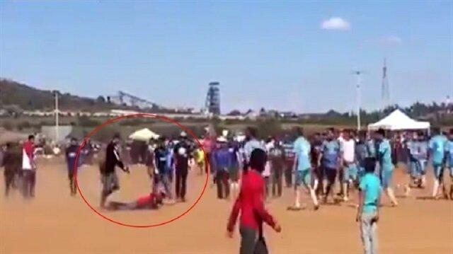 Saha içinde korkunç cinayet: Arkasından gelip kurşun yağdırdı!