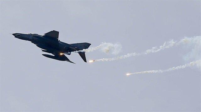 TSK'dan Kuzey Irak'a hava harekatı: 5 terörist etkisiz hale getirildi