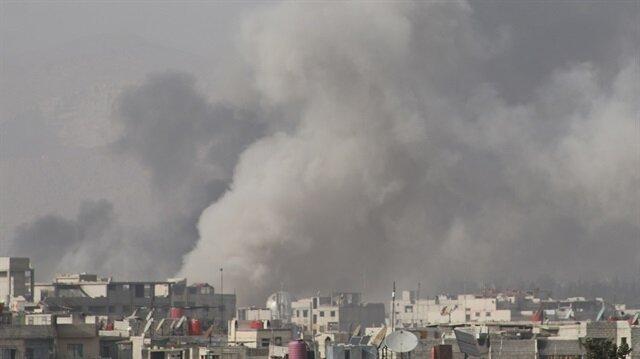 Esed Doğu Guta'da yine sivillere saldırdı