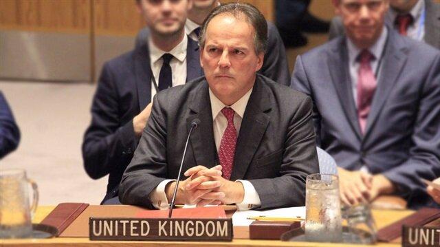 İngiltere Dıişleri Bakanlığında Asya ve Pasifik'ten Sorumlu Devlet Bakanı Mark Field