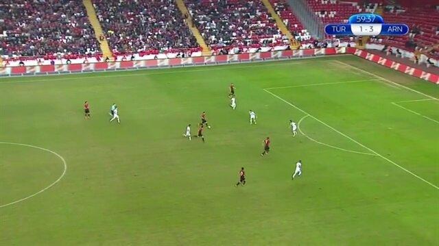 Türkiye 2-3 Arnavutluk (Maç Özeti)