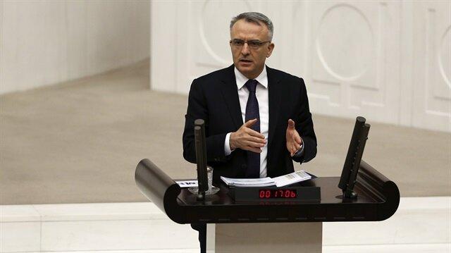 Maliye Bakanı Naci Ağbal açıklamada bulundu.
