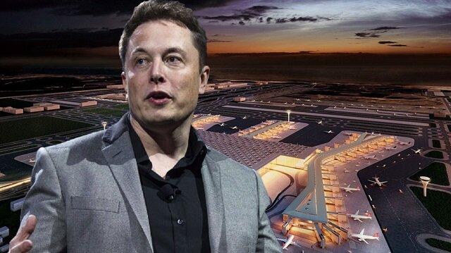 Elon Musk 3. havalimanı için bir teklifte bulundu.