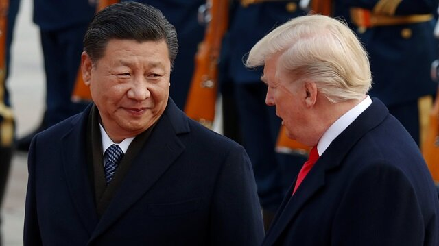 ABD Başkanı Trump ve Çin Devlet Başkanı Cinping