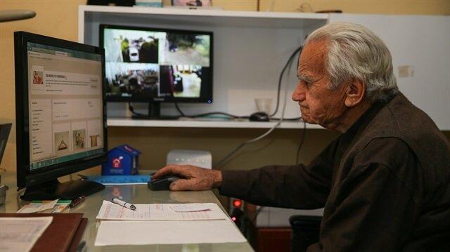 Mobilyacı Mehmet usta 90'ında e-ticaretle mesleğe döndü.
