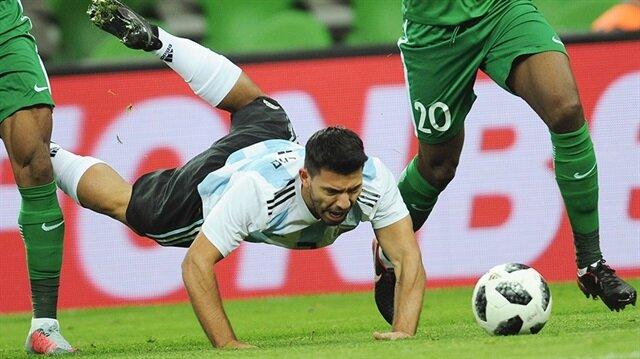 Nijerya Arjantin'i neye uğradığını şaşırttı: 2-4