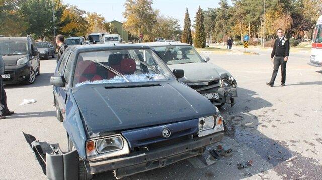 Elazığ'da meydana gelen trafik kazasında 5 kişi yaralandı.