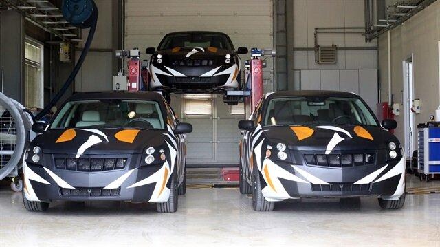 Yerli otomobil için çalışmalar devam ediyor.