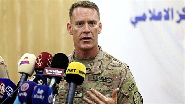 ABD liderliğindeki DEAŞ'a Karşı Uluslararası Koalisyonun Sözcüsü Albay Ryan Dillon