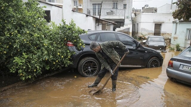 Flash floods have killed at least 15 people in Greece