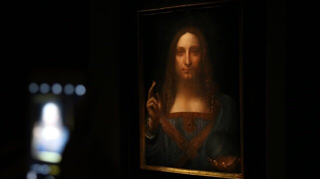 Da Vinci portrait of Christ sells for record $450.3 mln in New York