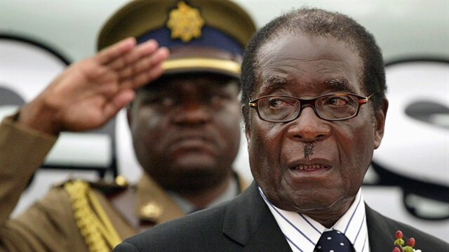 Zimbabwe's Mugabe appears in public for first time since coup
