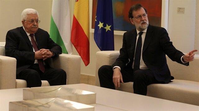 Palestinian President meets Spanish King for talks