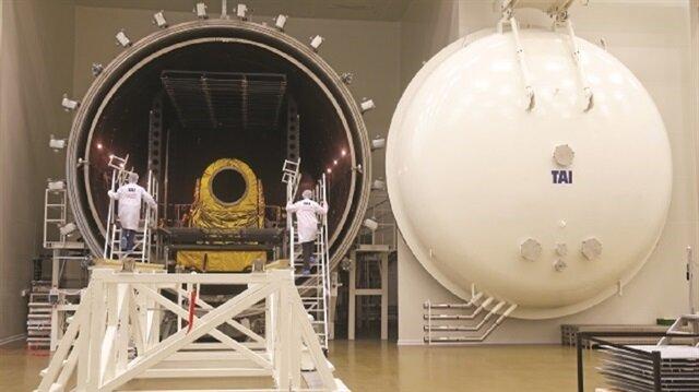 تركيا تكشف النقاب عن قاعدة فضاء إنتاج أول قمر صناعي محلي