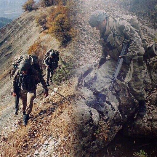 Jandarma operasyonun fotoğraflarını paylaştı