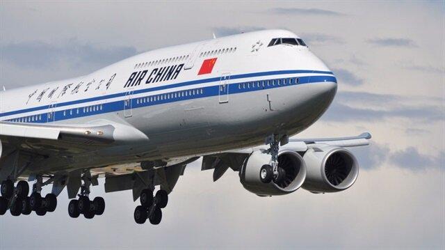 Çin havayolu şirketi Kuzey Kore'ye uçuşları askıya aldı