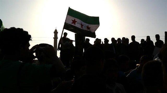 Syria opposition urges Arab unity against Iran