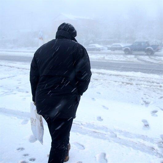 Meteorolojiden 19 ile kar ve sağanak uyarısı