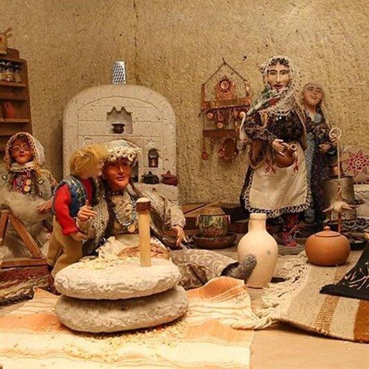 Tarihe ışık tutan oyuncak bebek müzesi