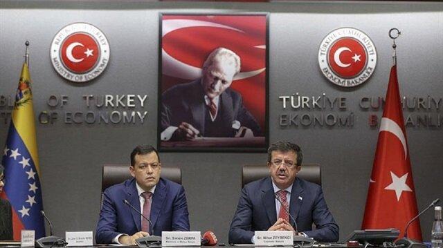 وزير الاقتصاد التركي: نرغب في تحرير علاقاتنا التجارية مع فنزويلا