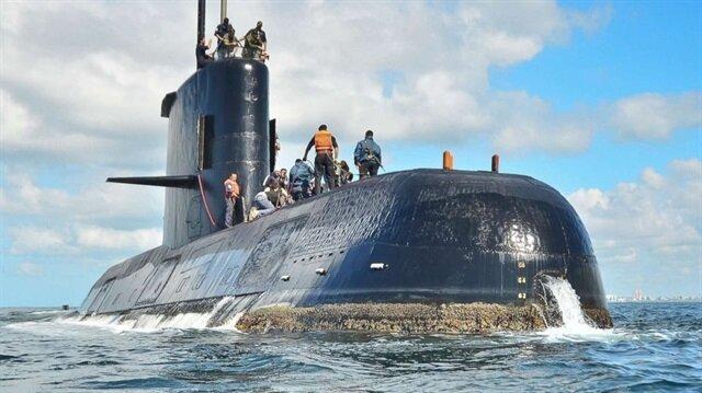 Arjantin'deki kayıp denizaltının olduğu bölgede patlama