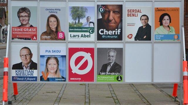 Danimarka'daki seçimlere 'Türk' damgası