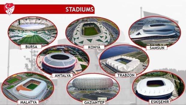 Haberde stadyumlar için ayrılan bütçenin 1 milyar dolar olduğu aktarıldı.