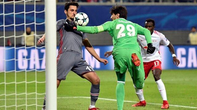Maç öncesi gruptan lider çıkmayı garantileyen Beşiktaş, Leipzig'i yenerek en çok puan toplayan Türk takımı oldu.