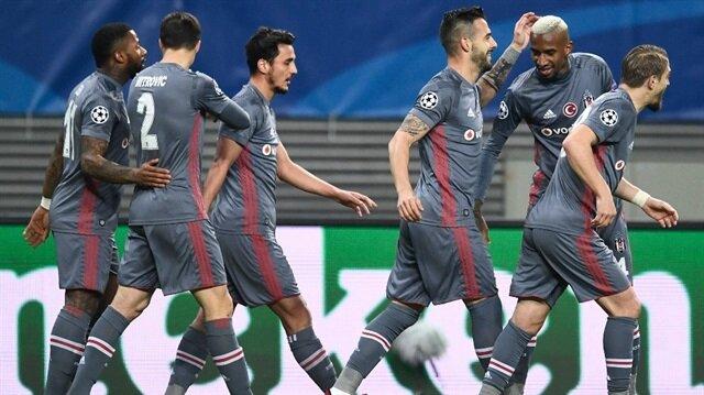 Beşiktaş dünkü maçta Leipzig'i 2-1 mağlup ederek grupta namağlup lider olarak bir üst tura kalmayı başardı.