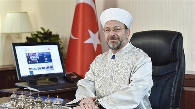 رئيس الشؤون الدينية التركي: الاعتراف بالقدس عاصمة لإسرائيل نهجٌ متهور