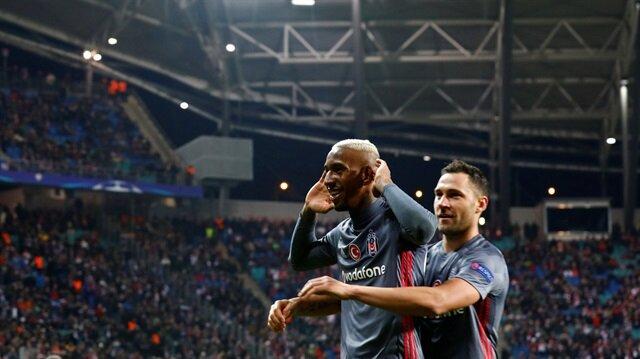 Beşiktaş Negredo ve Talisca'nın golleriyle Leipzig'i deplasmanda 2-1 mağlup etti.