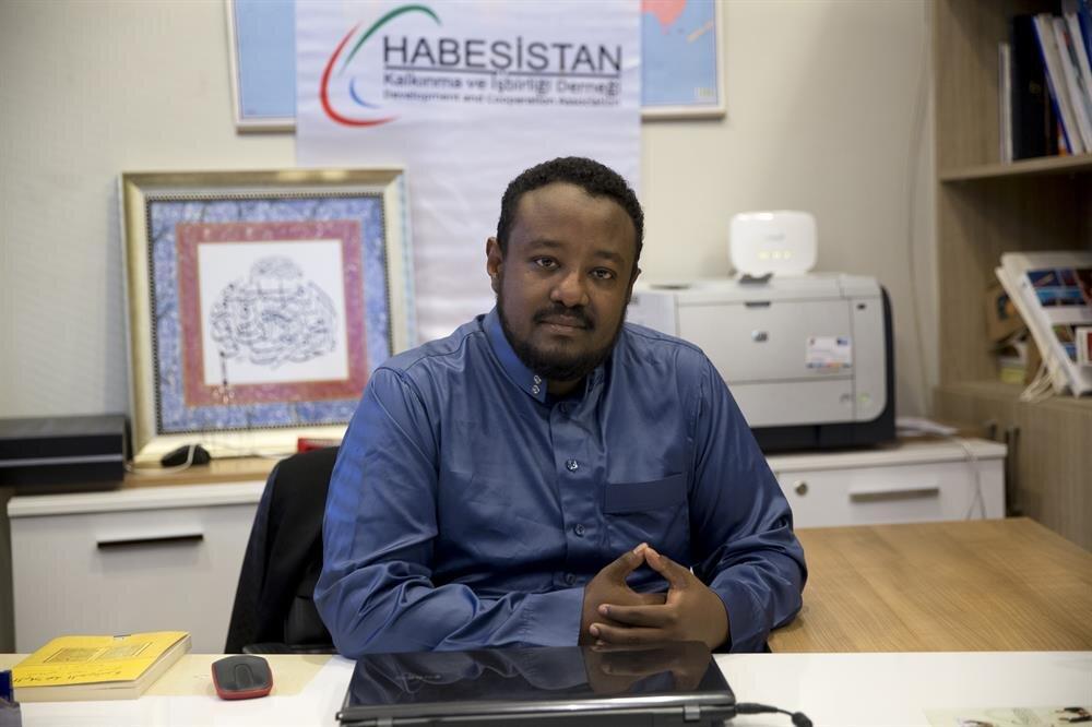 Ishak Eshetu Aragaw, a spokesman of Istanbul-based Habesistan (Ethiopia) Development and Cooperation Association