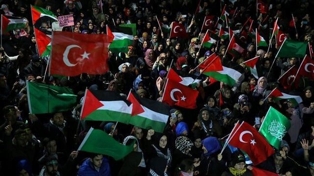 Protests continue against US Jerusalem move in Turkey