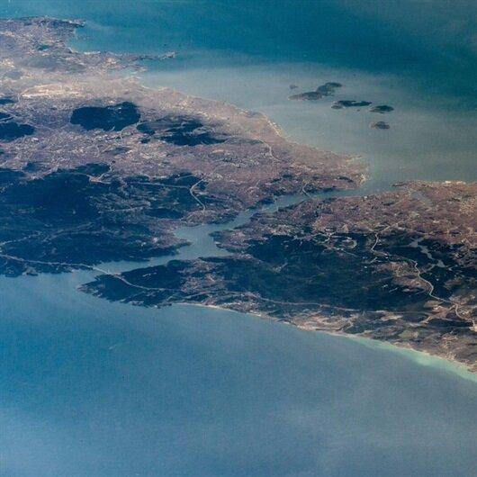 Uzay istasyonundan İstanbul böyle görüntülendi